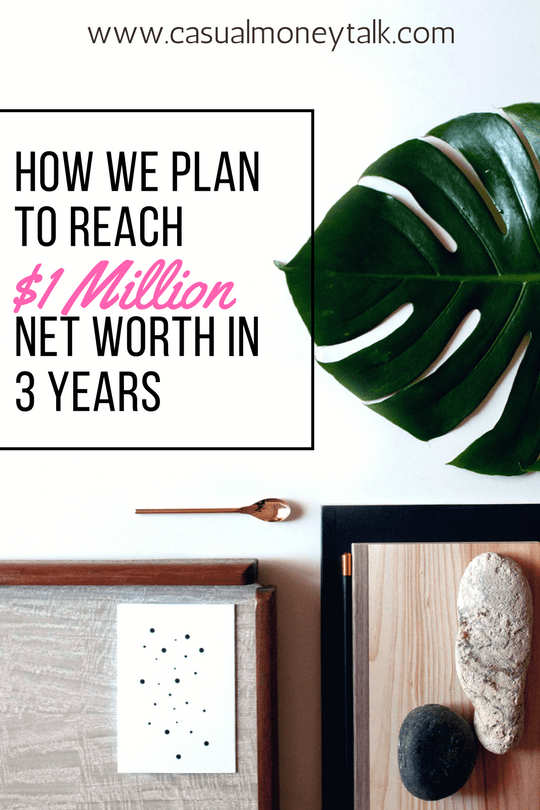 How We Plan to Reach $1 Million Net Worth in 3 Years #personalfinance
