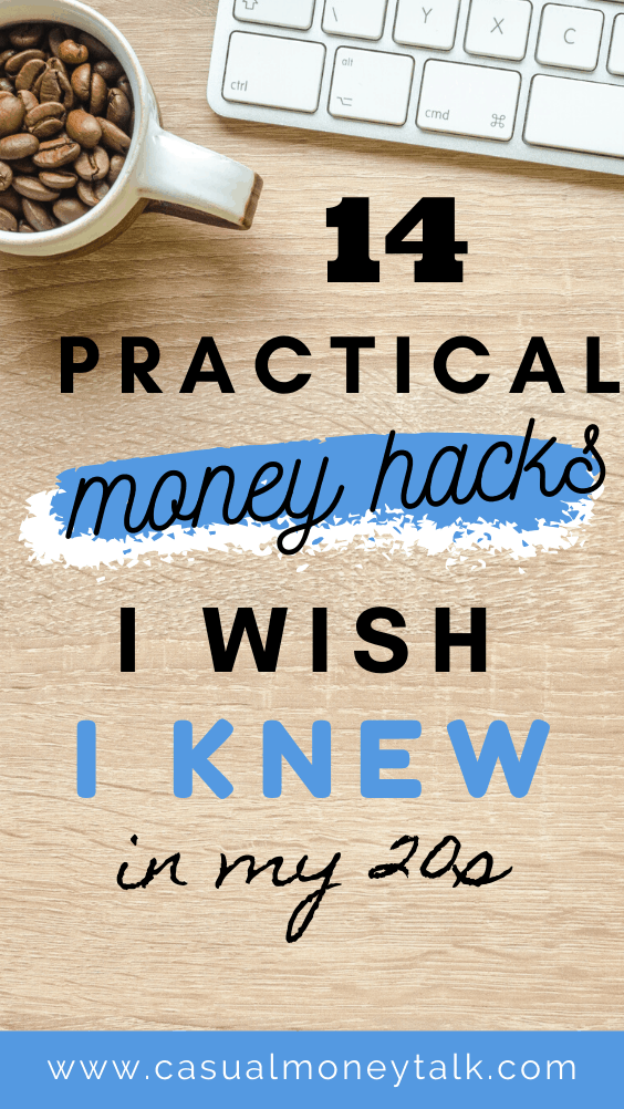 14 Practical Money Hacks I Wish I Knew in My 20s #personalfinance #sidehustle #savingmoney