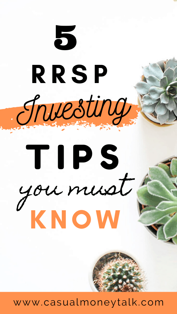 5 RRSP Investing Tips You Must Know