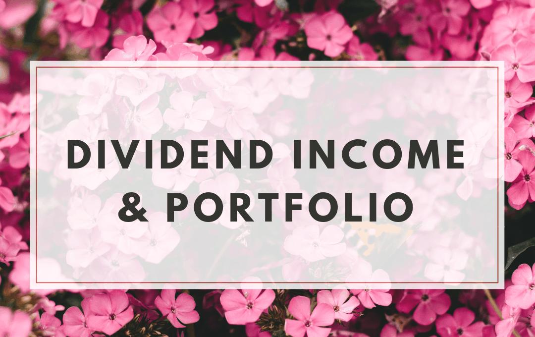 Dividend Income and Portfolio