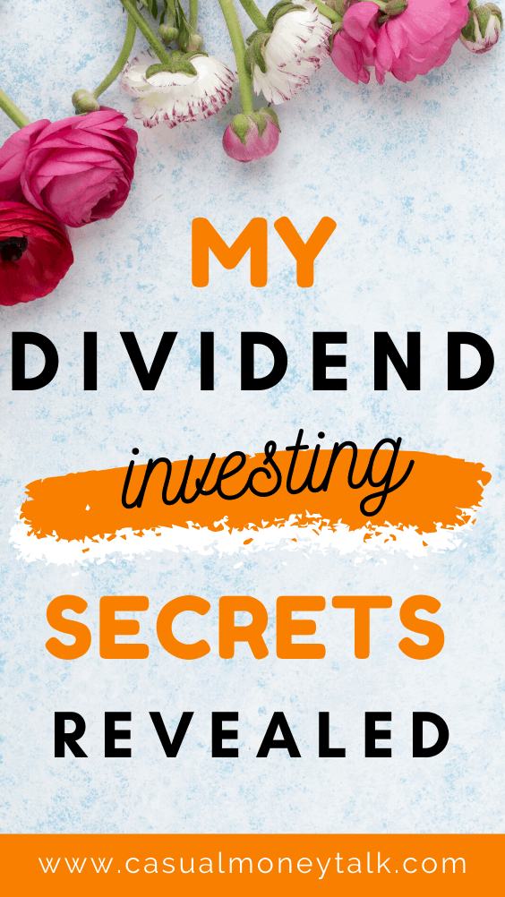 My Dividend Investing Secrets Revealed