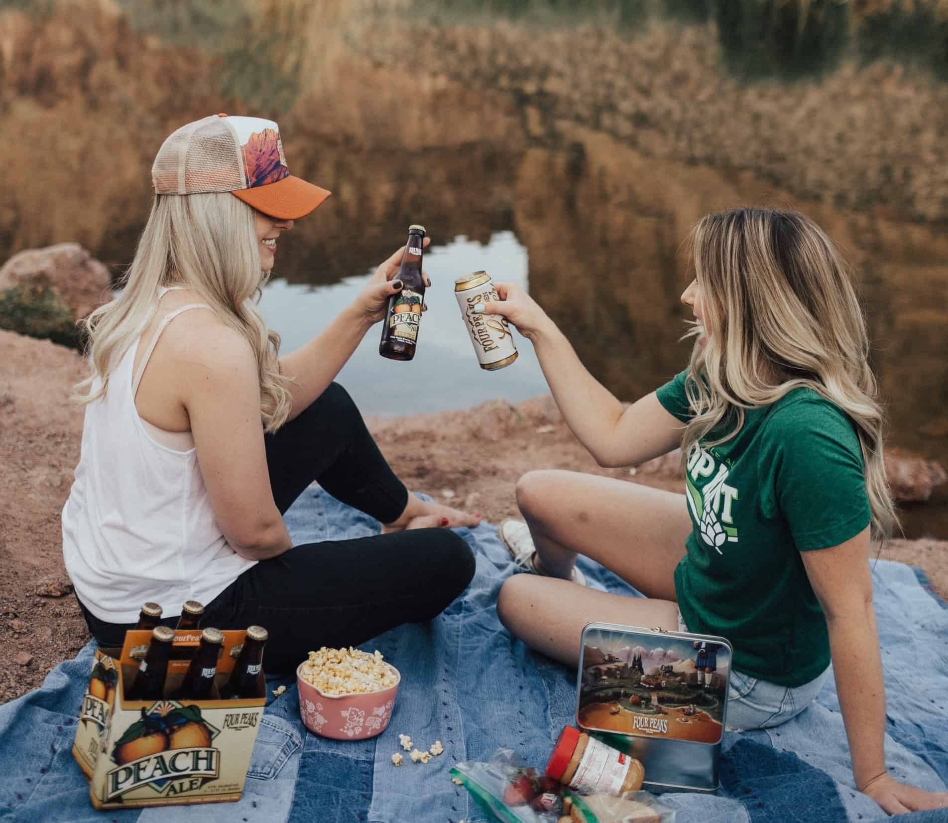 Pack a picnic to enjoy in a public park