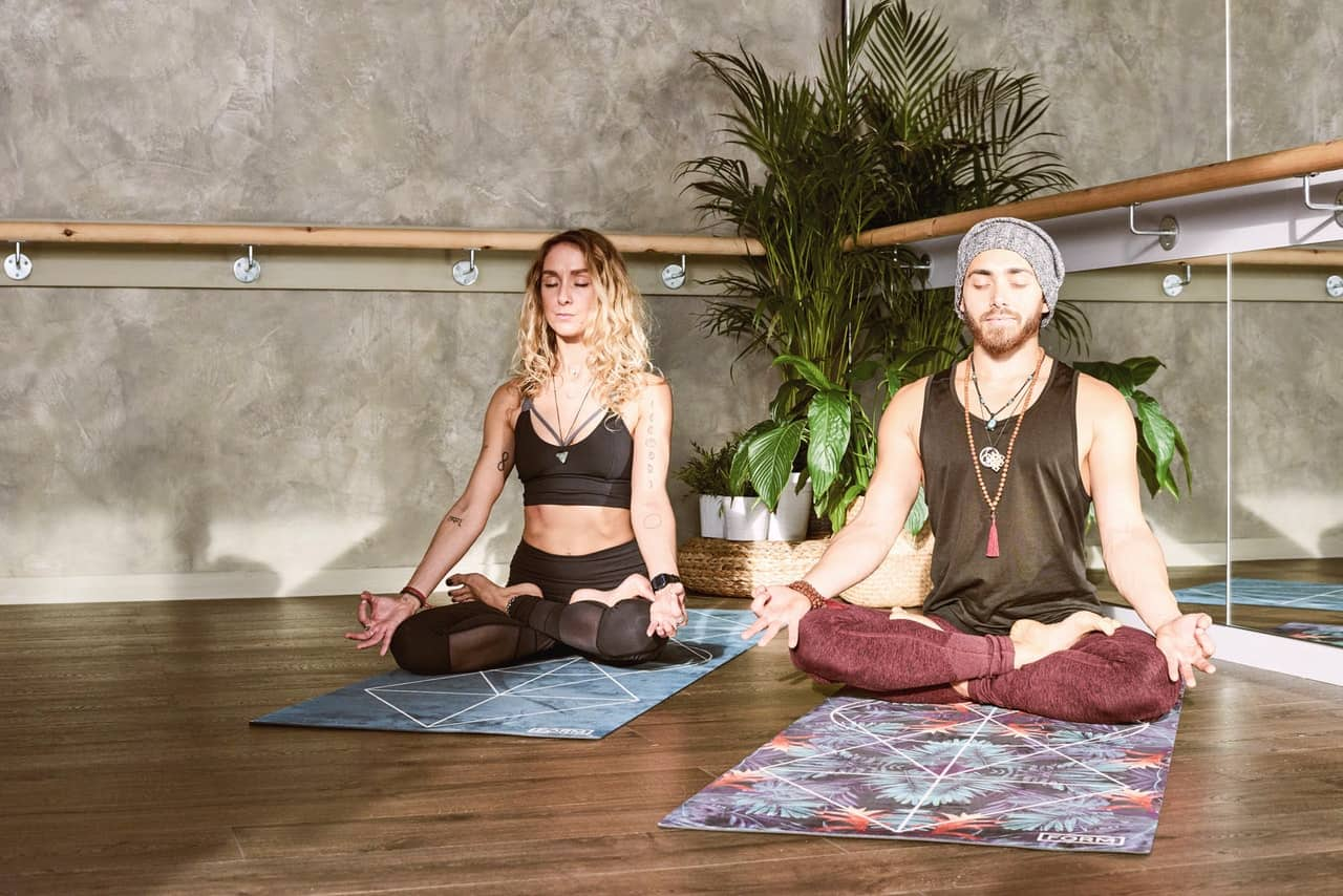 Sign up for a trial class at a yoga studio