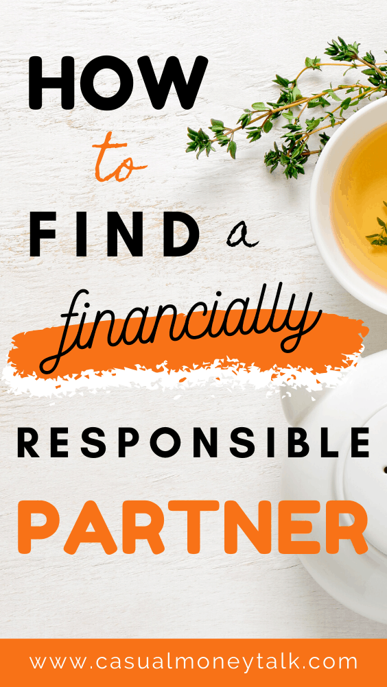 How to Find a Financially Responsible Partner